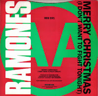 Portada del single Merry Christmas de los Ramones