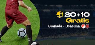 bwin promo liga Granada vs Osasuna 18-10-2019