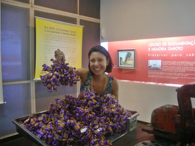 Visita a Fábrica de Chocolates Garoto