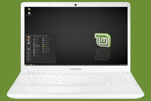 portatil samsung con linux mint