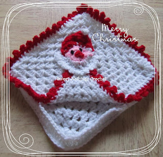 crochet napkin dispenser