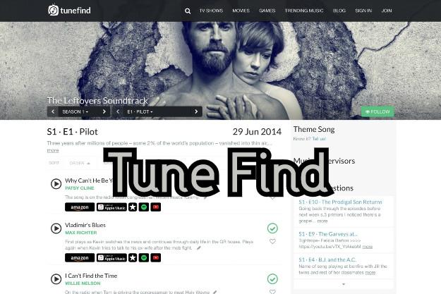 Tune Find - Βρες ποιο μουσικό κομμάτι ακούγεται σε κάθε ταινία και επεισόδιο σειράς
