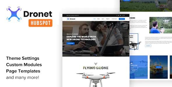 Best Drone & UAV Business HubSpot Theme