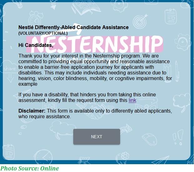 NESTLE Paid Internship Program 2021 - Nestle Paid Internship With Monthly Sipund Rs. 20,000