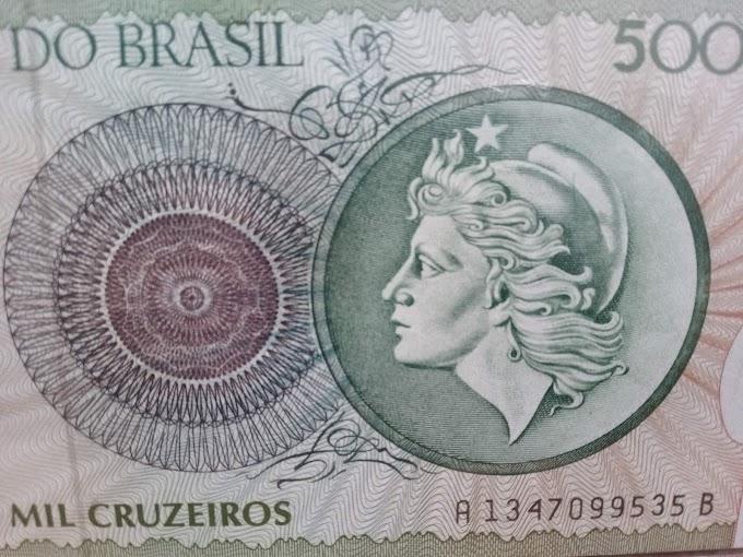 DINHEIRO EMERGENCIAL BRASILEIRO - A nota de 5.000 mil cruzeiros cumpriu esse papel.