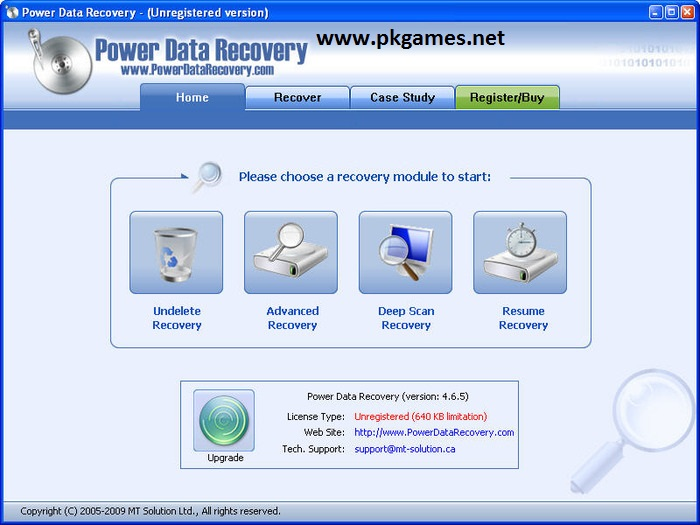 data recovery software with key free download