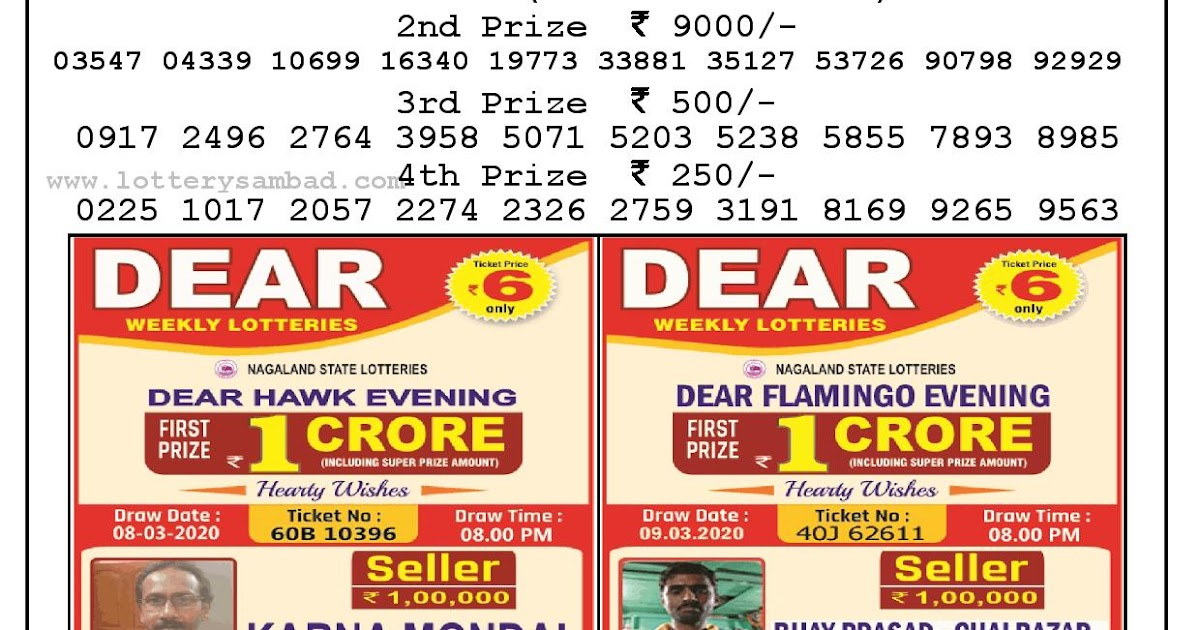 Lotto Results 3639