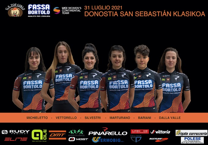 El Top Girls Fassa Bortolo competirá hoy en San Sebastián