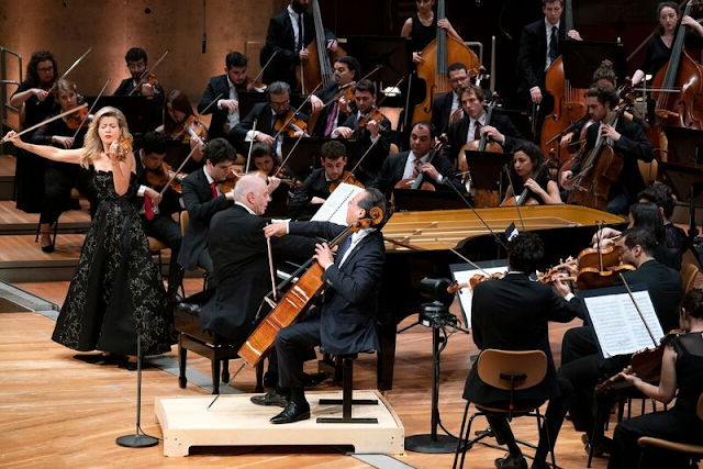 Mutter/Ma/WEDO/Barenboim - Beethoven and Bruckner, 23 October 2019