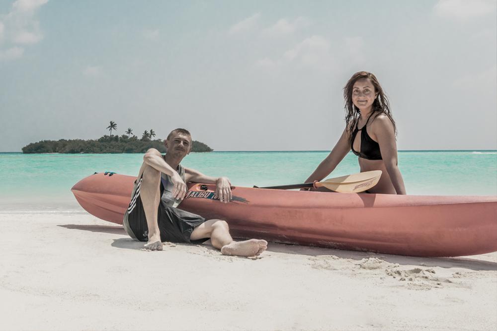 Der Traum von den Malediven wurde war, WELTREISE