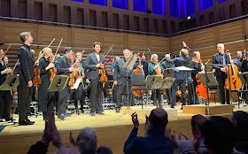 Lawrence Power, Paul Watkins, Simon Crawford-Phillips, Västerås Sinfonietta at Kings Place (Photo Maestro Arts)