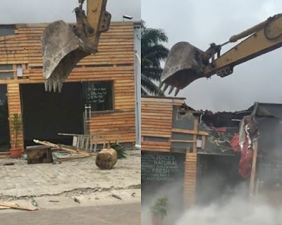 Lagos state government says owners of demolished structures in Ikoyi were duly served contravention notices