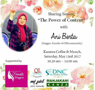 "Blogger Handal dengan ""The Power Of Content"""
