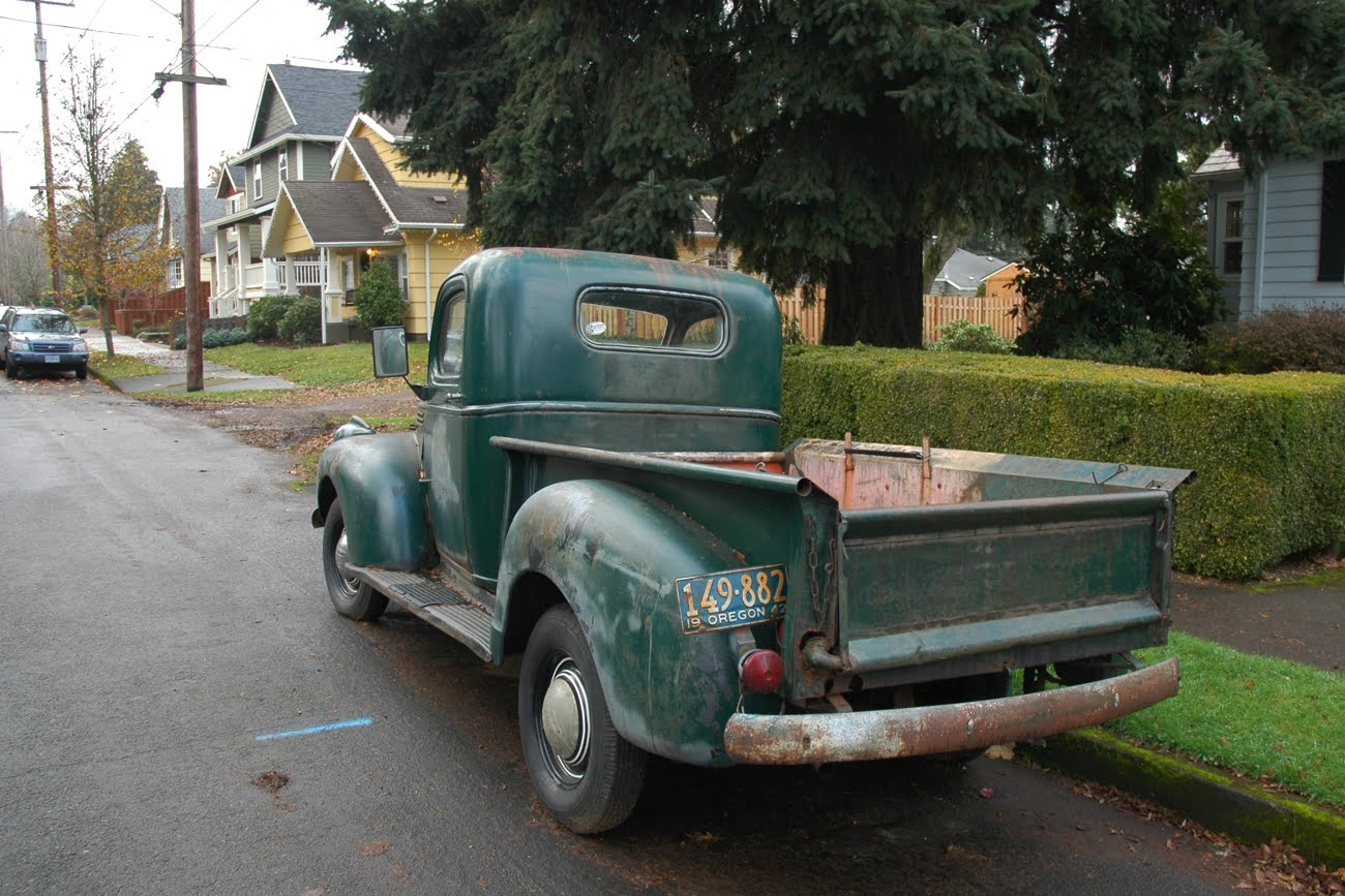 All Chevy chevy 216 engine : OLD PARKED CARS.: 1942 Chevrolet AK Pickup.