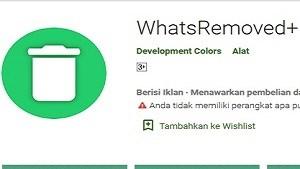 Kepo! 5 Aplikasi untuk Melihat Pesan Whatsapp yang Sudah Dihapus