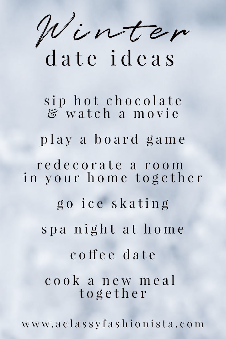 Dating ideas during winter