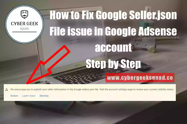 How to Fix Google Seller.json File issue in Adsense