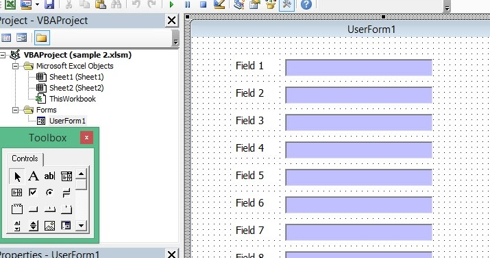 Excel-VBA Solutions: How to Use Scroll Bar in Userform