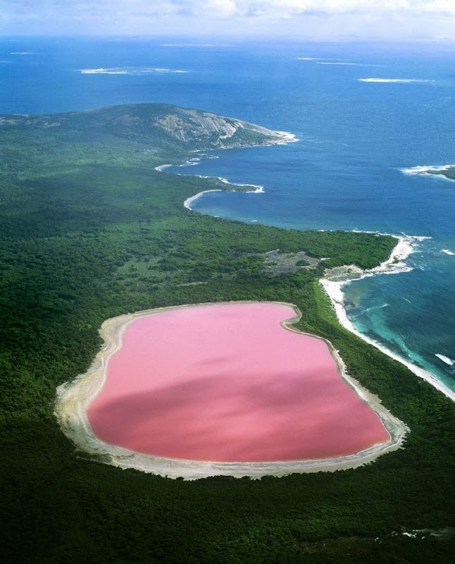 Lake Hillier, The Pink Lake in Australia 2