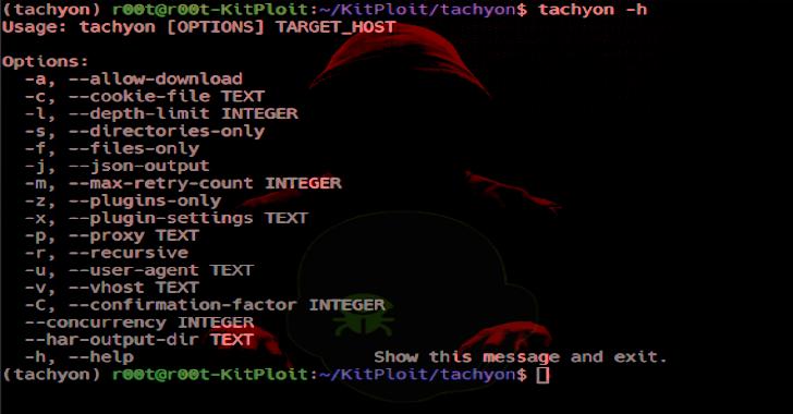 Tachyon : Fast Http Dead File Finder