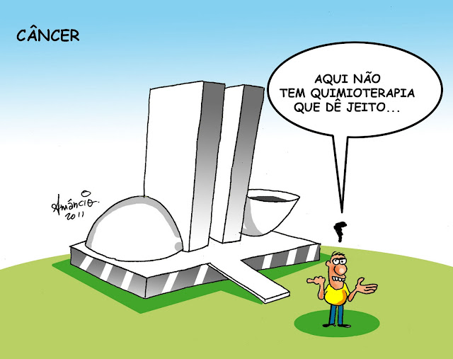 O câncer do Brasil