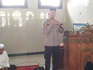 "Melalui Program ""Safari Jum'at"" Kamtibmas, Kapolres Enrekang Gencar Imbau Warga"