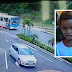 Câmeras de segurança flagra momento exato que ônibus esmaga cabeça de criança