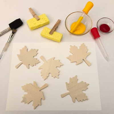 Fun fall art project for kids