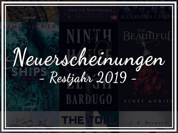Die besten Buch-Neuerscheinungen im Restjahr 2019