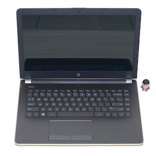 Laptop HP 14-bw501AU Gold Baru Di Malang