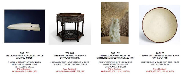 CHINESE CERAMICS & WORKS OF ART AUTUMN AUCTIONS