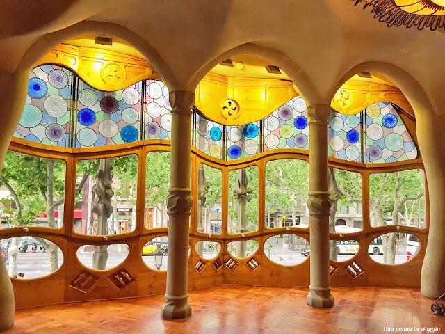 Vetrate Casa Ballò, Barcellona