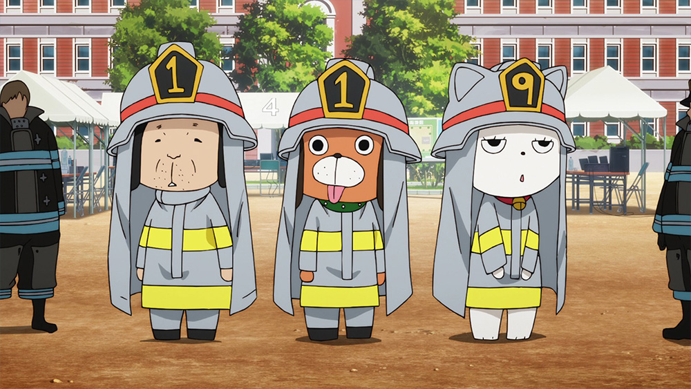 Preview Images Fire Force Episode 3