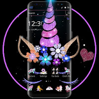Night Star Unicorn Sparkling Theme Apk Download for Android