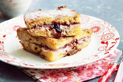 Panettone french toast with ricotta desserts recipes
