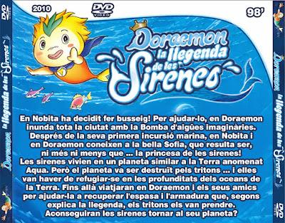 Doraemon i la llegenda de les Sirenes - [2010]