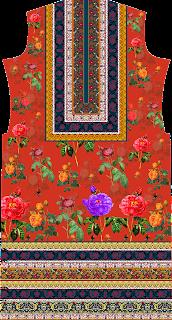 Floral Print Suit Kurtis