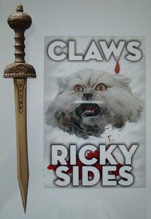 Portada del libro Claws, de Ricky Sides