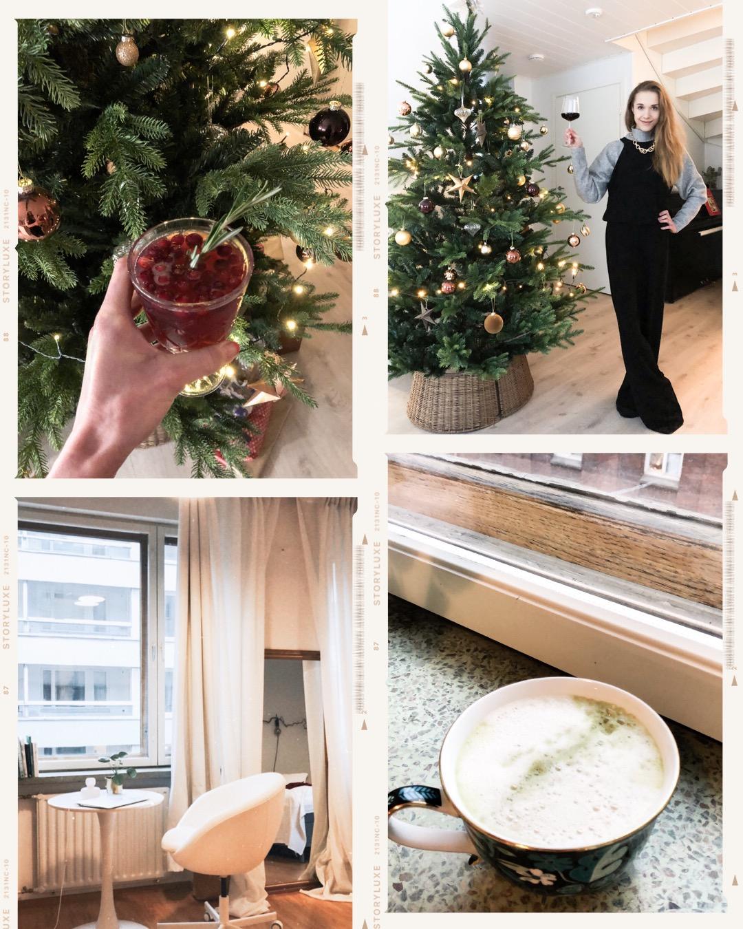 Jouludrinkki, sisustusinspiraatio, koti, matcha latte // Christmas drink, interior inspiration, home, matcha latte
