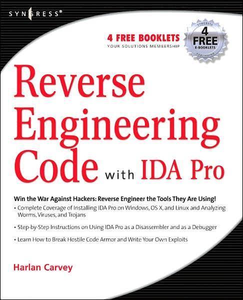 Reverse Engineering Code with IDA Pro. Syngress