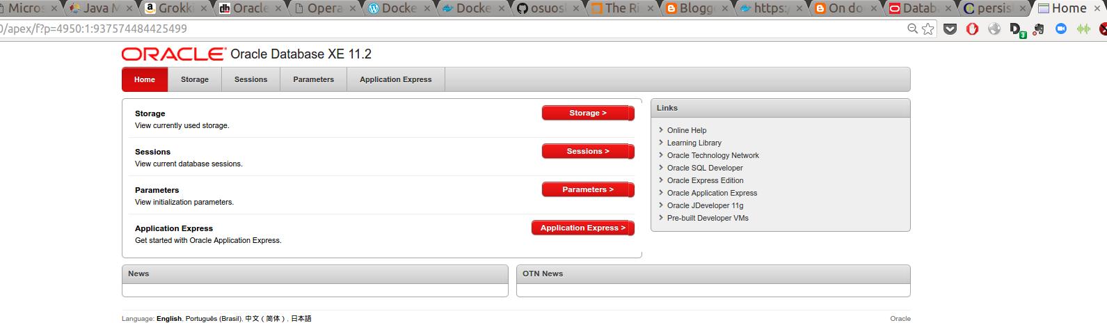 Is time for Oracle XE on Docker   Marcelo Ochoa's personal blog