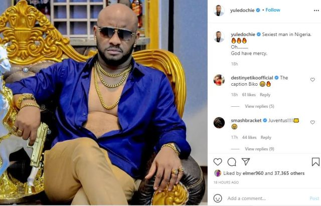 I am the sexiest man in Nigeria- Yul Edochie