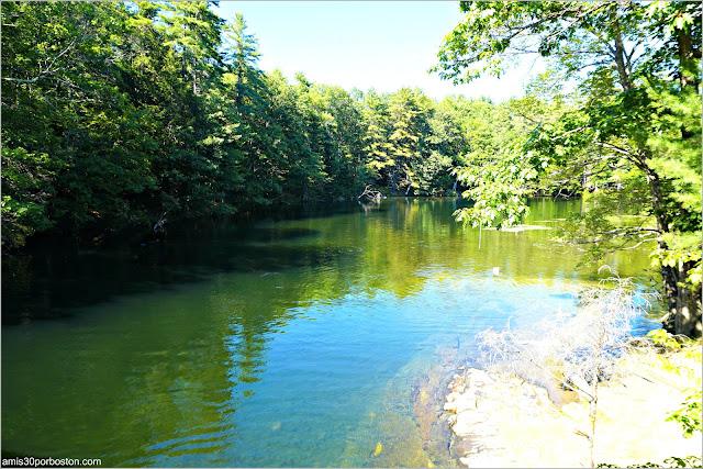 Río Presumpscot River en Maine