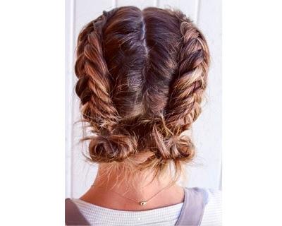 Double-Dutch Braid For Short Hair