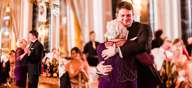 A classic formal winter wedding at the Hotel Monaco and The Belvedere in Baltimore, Maryland Photographed by Heather Ryan Photography