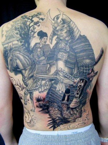 Tattoo De Samurai E O Seu Significado Site Do Oriente