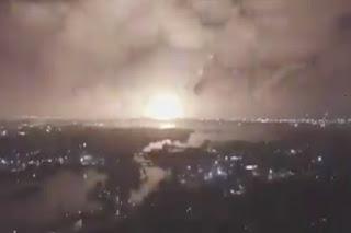 Ledakan Dahsyat Guncang Negara Syiah Iran, Diduga di Situs Nuklir Militer