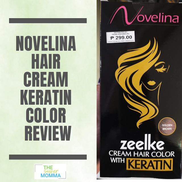 Novelina Cream Hair Keratin Color Review