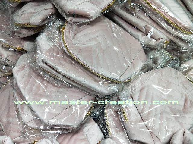 velvet cosmetic bag