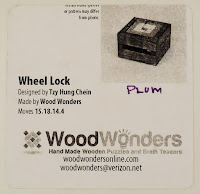 Wheel Lock Box Label